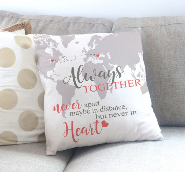Going Away Personalized Pillow Gift | VeveAndK